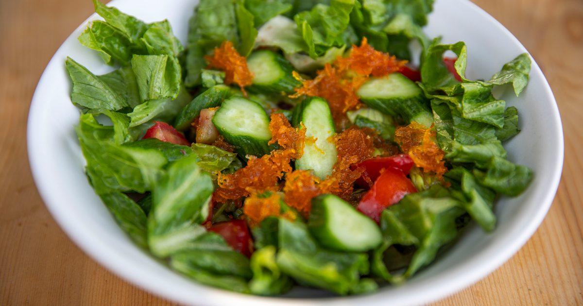 Sour Orange Marmalade in a Salad